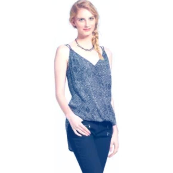Mossimo Supply Co. Tops - Women's Woven Printed Surplice Cami - Mossimo Supp